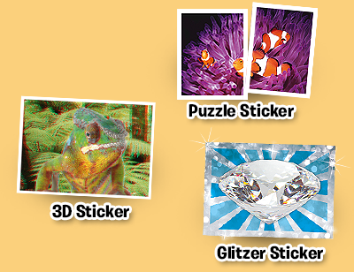 REWE speciali stickers