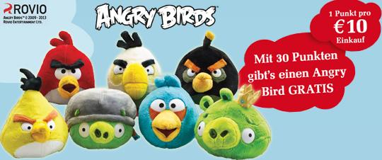 Billa AT angry Birds