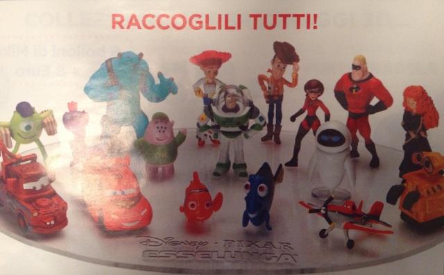 Disney Pixar 3D Esselunga