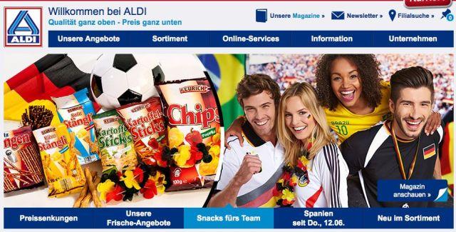 Aldi Germania Mondiali