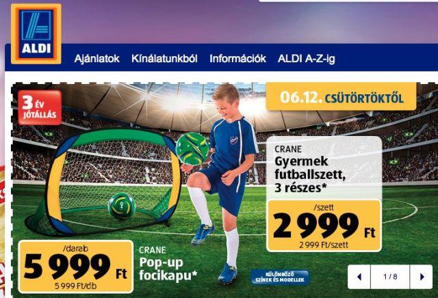 Aldi Ungheria Mondiali