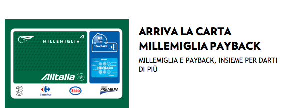 Alitalia Payback