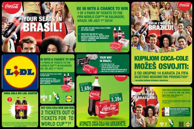 LIDL Coca-cola Brasil 2014