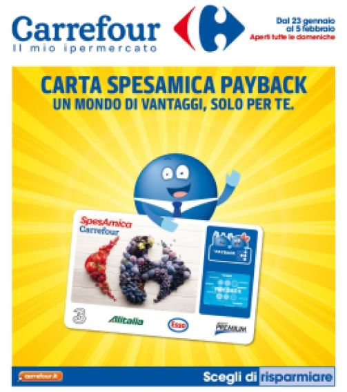Carrefour Payback volantino