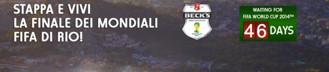 Becks Mondiali 2014