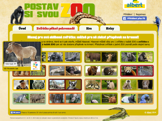 Albert Zoo web