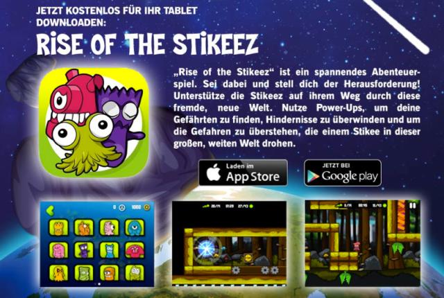 App Stikeez