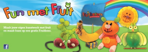 Fun met fruit banner