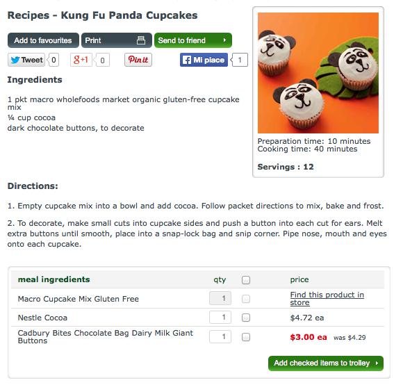 Ricetta Kunfu Panda Cupcake