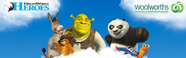 Woolworths HEROES DreamWorks