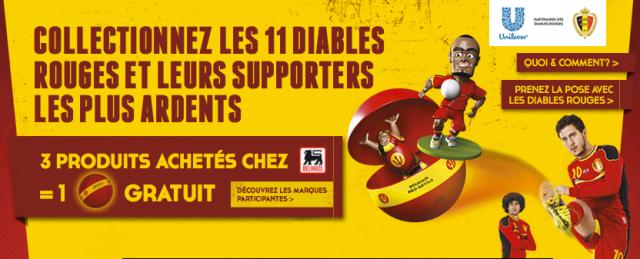 Banner Promo Delhaize - Unilever