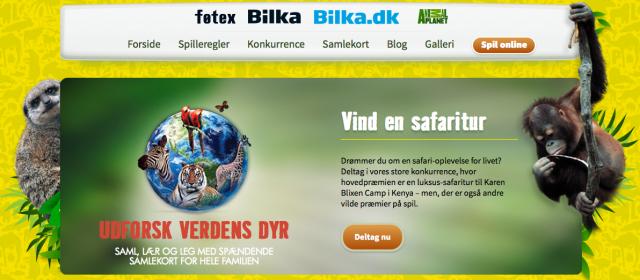 Fotex Bilka Dk Animal Planet