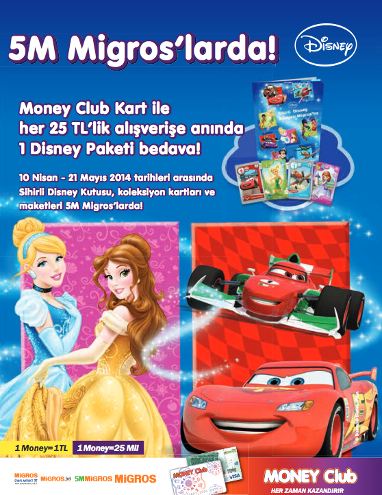 Migros TR Disney 2014