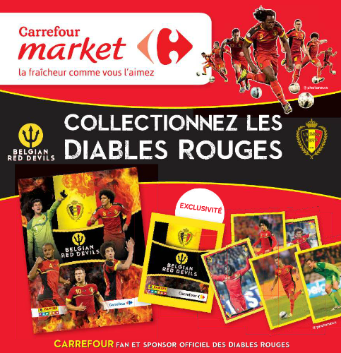 Carrefour Diables Rouges 2014