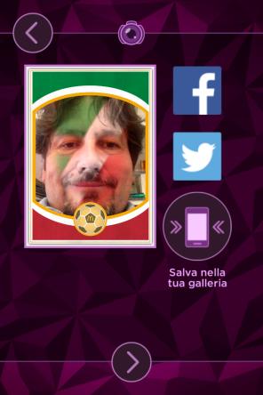 Paint Face app gol McDonald's