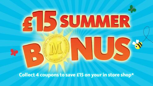 Morrisons Bouns-Summer