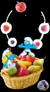 Smurf Puffi Albert Cz